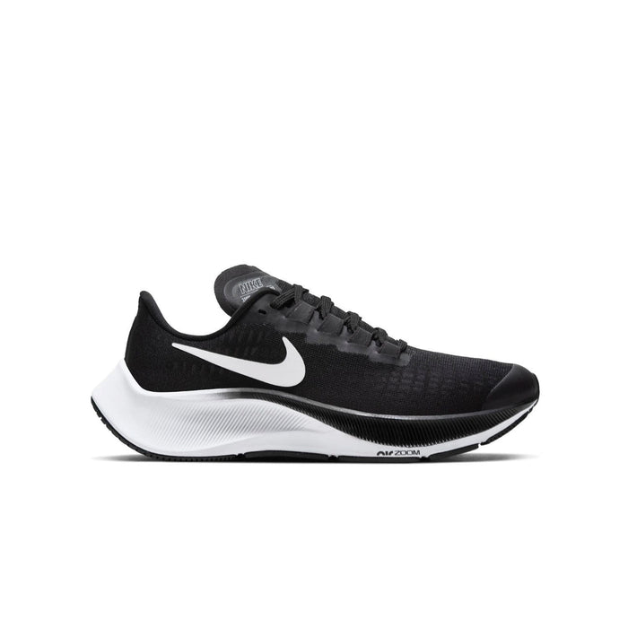 Nike Air Zoom Pegasus 37 GS Kids Black/White - Left side