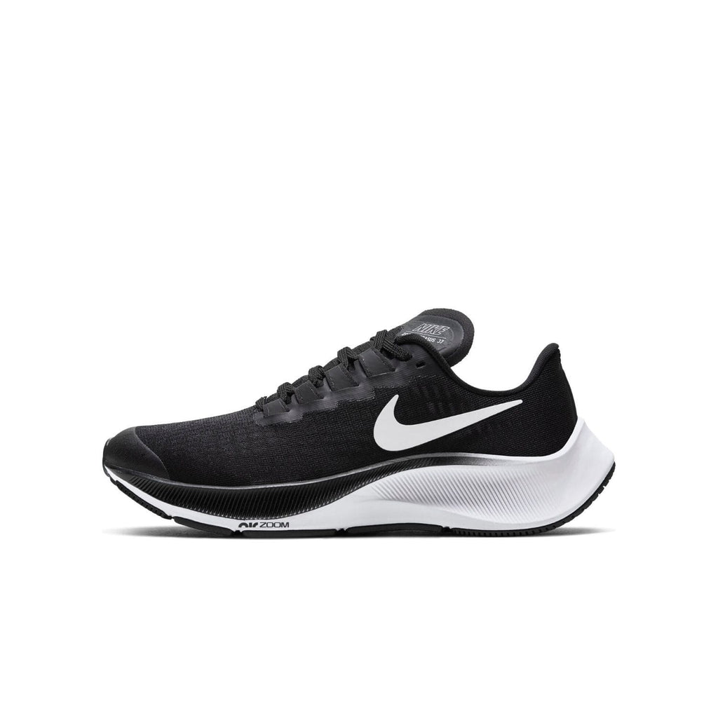 Nike Air Zoom Pegasus 37 GS Kids Black/White - Right side view