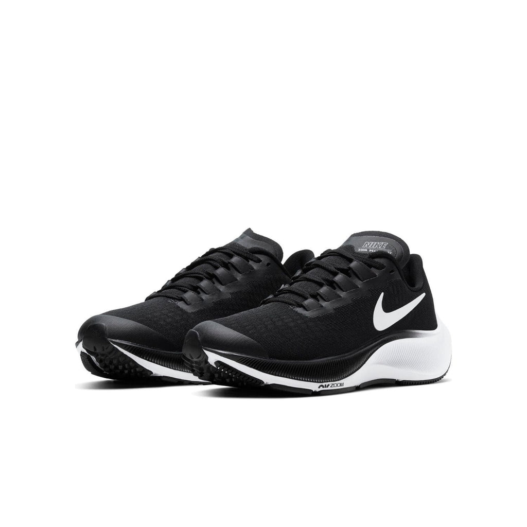 Nike Air Zoom Pegasus 37 GS Kids Black/White - Pair view