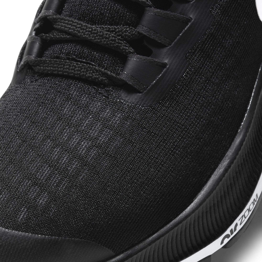 Nike Air Zoom Pegasus 37 GS Kids Black/White - Upper material close up