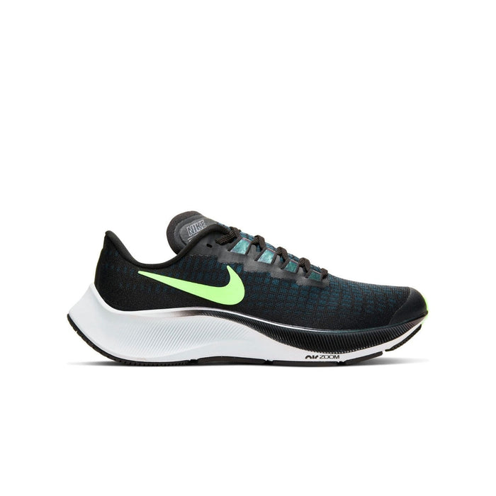 Nike Air Zoom Pegasus 37 Kids (GS) Black/Lime Blast-Valerion Blue-White - Right view