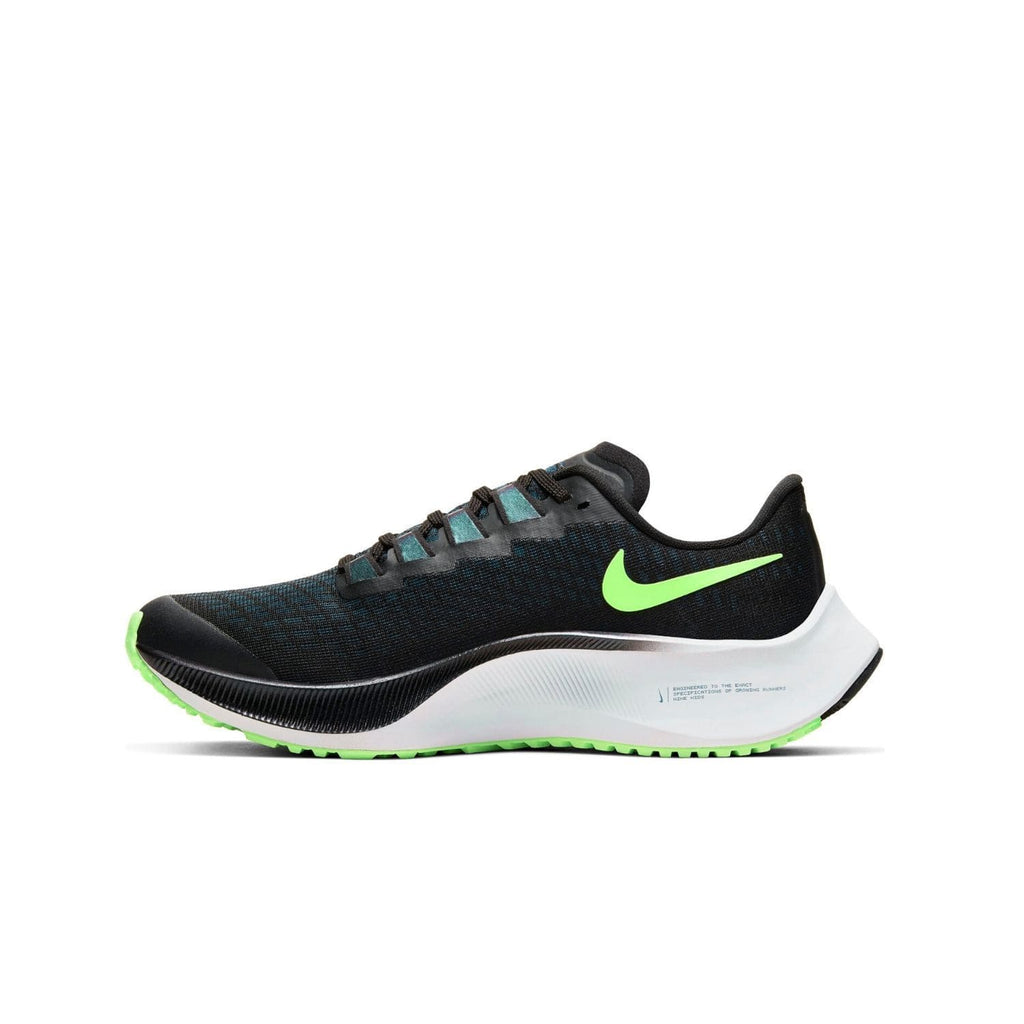 Nike Air Zoom Pegasus 37 Kids (GS) Black/Lime Blast-Valerion Blue-White - Right side
