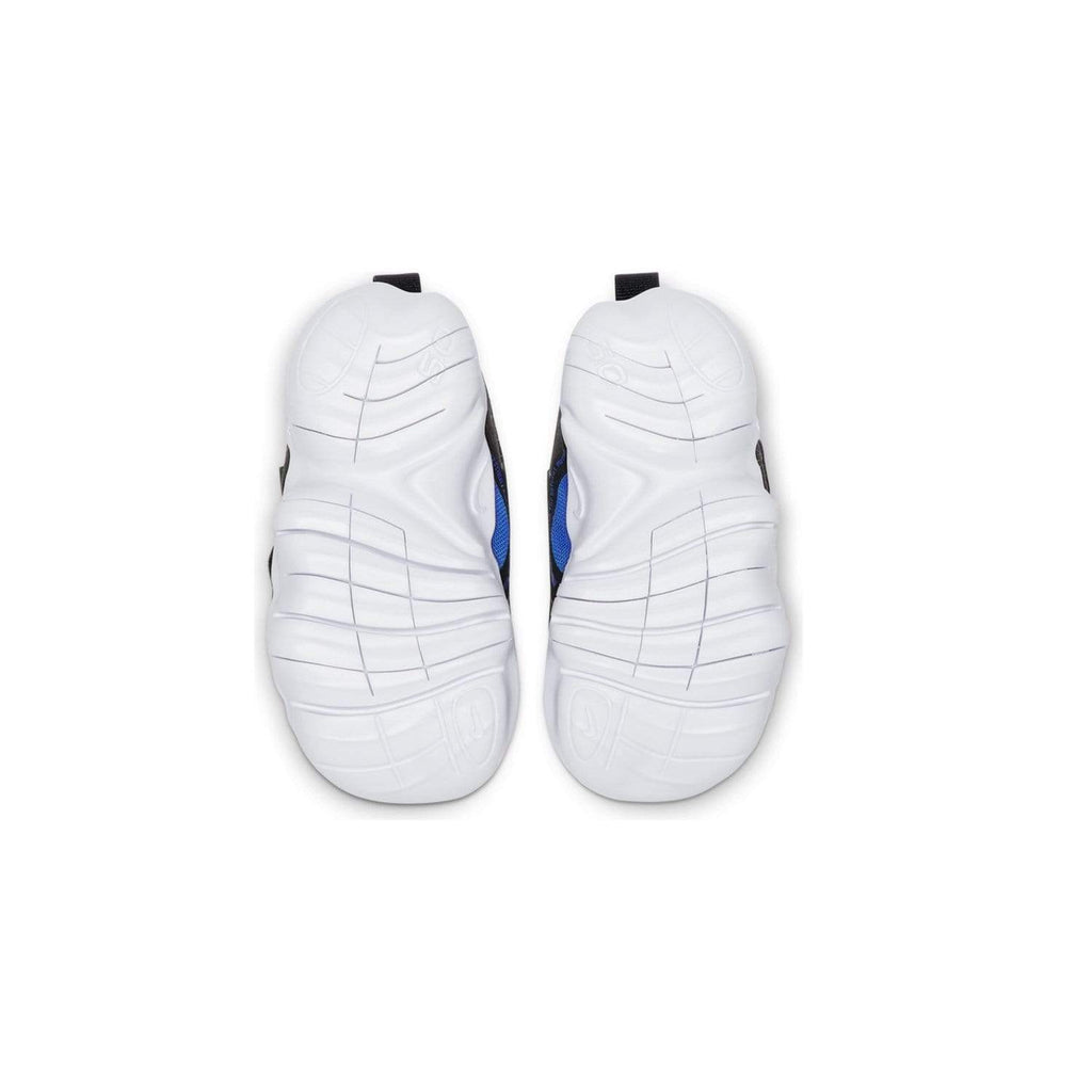 Nike Kids Nike Free 5.0 Racer Toddlers Blue/Black-White - Sole view