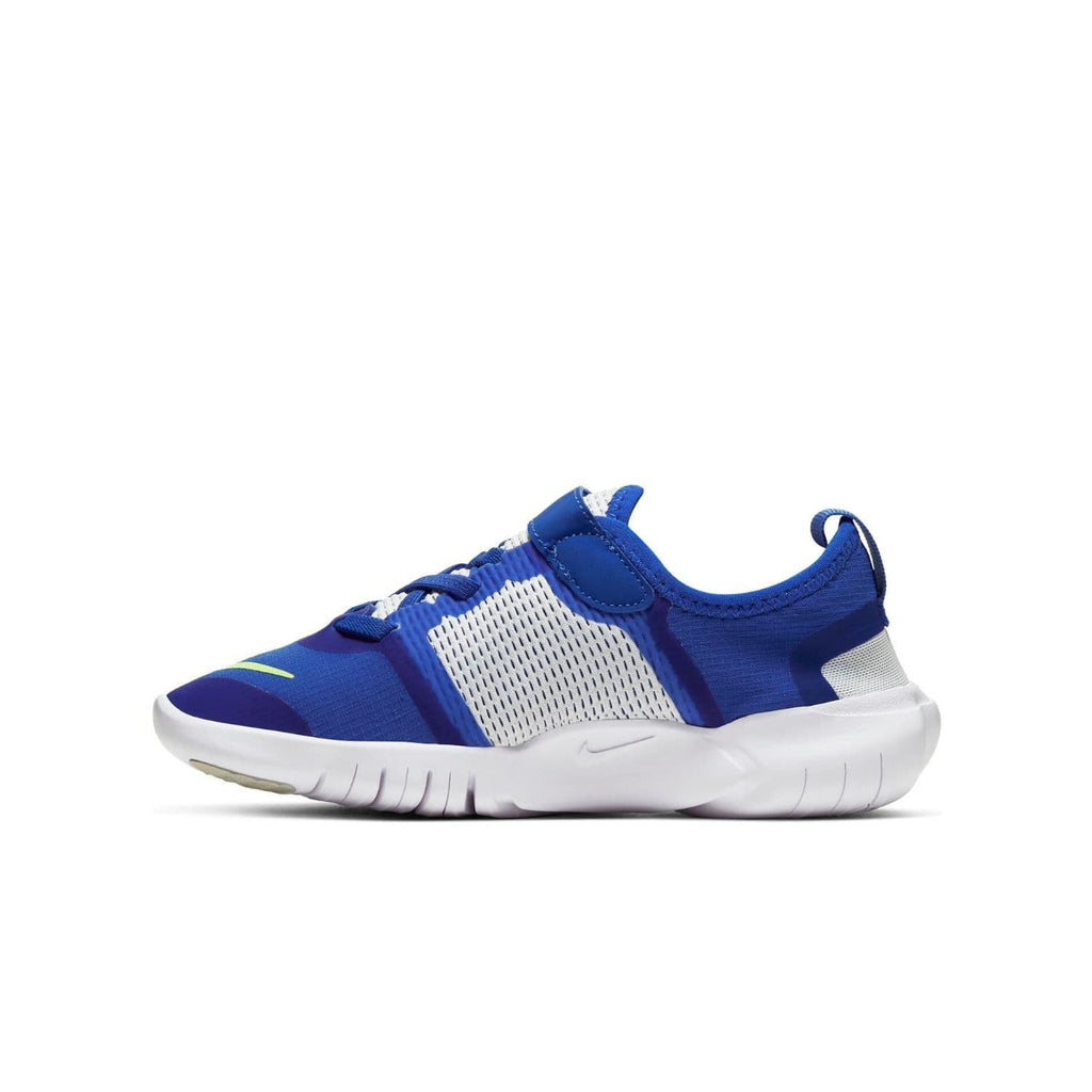 Nike Free RN 5.0 2020 Kids Hyper Royal/Ghost Green-Photon Dust - Left side