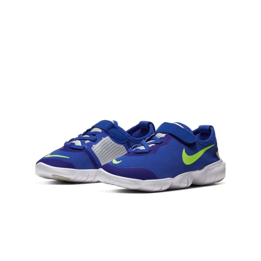Nike Free RN 5.0 2020 Kids Hyper Royal/Ghost Green-Photon Dust - Pair view