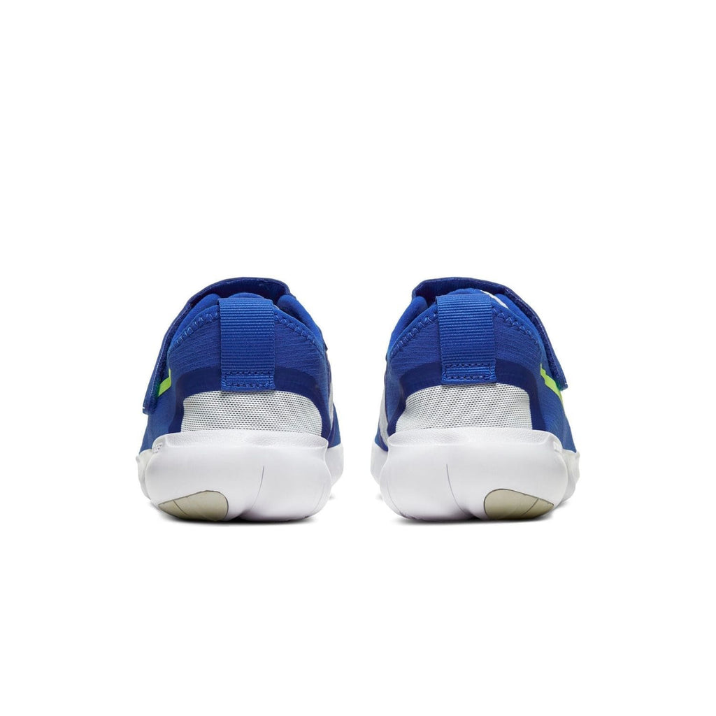 Nike Free RN 5.0 2020 Kids Hyper Royal/Ghost Green-Photon Dust - Back view