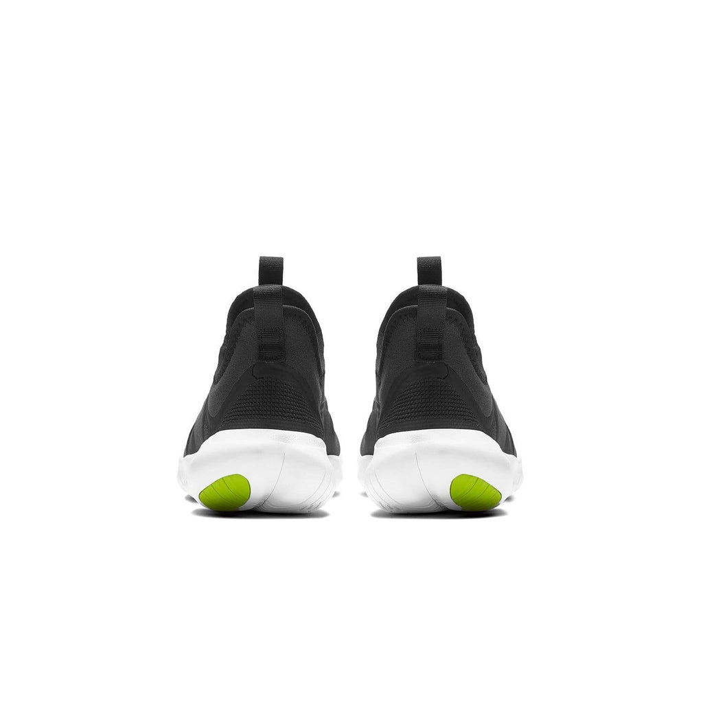 Nike Kids Nike Free RN 5.0 GS Kids Black/White- Anthracite -Volt - Back view