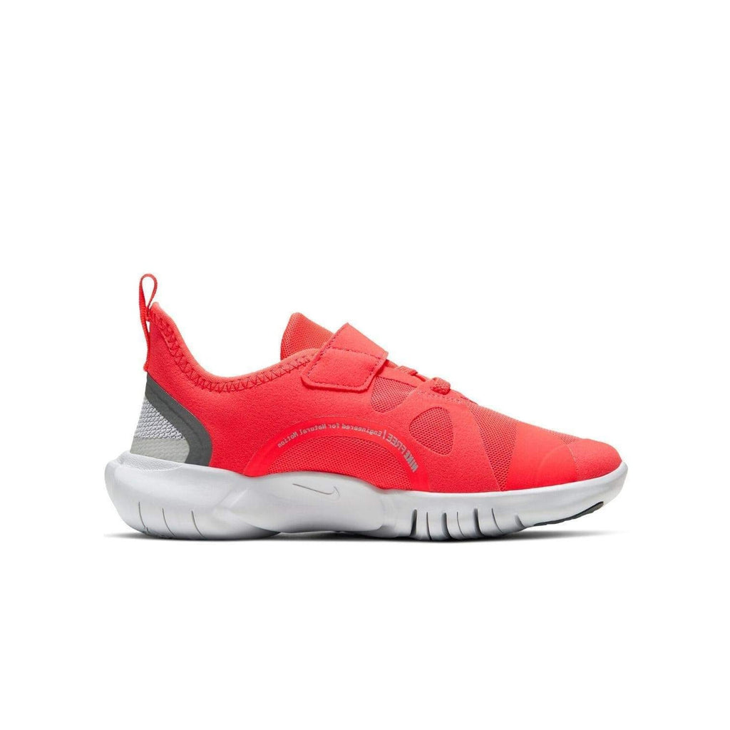 Nike Kids Nike Free RN 5.0 (PSV) Kids Laser Crimson/LT Smoke Grey Smoke Grey - Left side view