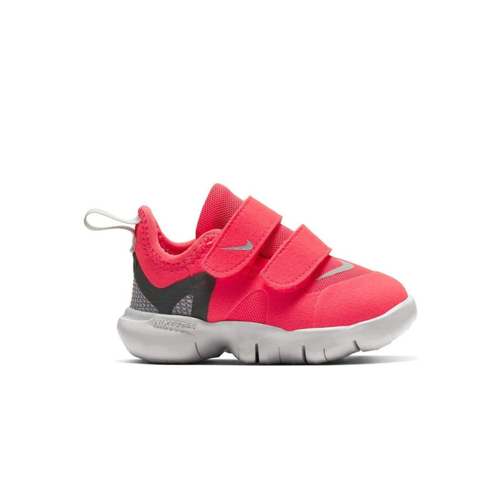 Nike Kids Nike Free RN 5.0 (TDV) Toddlers Laser Crimson/LT Smoke Grey Smoke Grey - Right side view