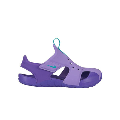 Nike Sunray Protect 2 Sandal Kids PS Atomic Violet Hyper Jade-Hyper Grape - Sole Mechanics Natural Motion Footwear - Australia & New Zealand