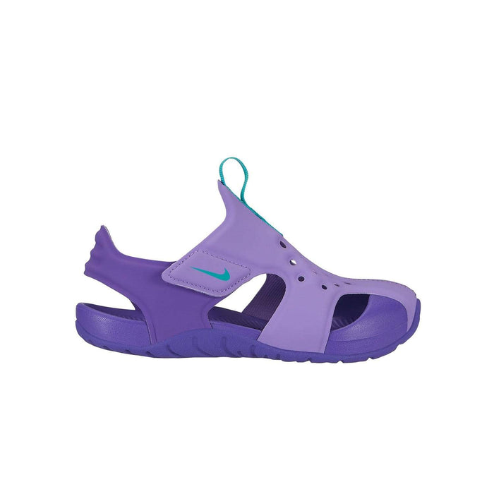 Nike Kids Nike Sunray Protect 2 Sandal Kids PS Atomic Violet/Hyper Jade-Hyper Grape - Right side view