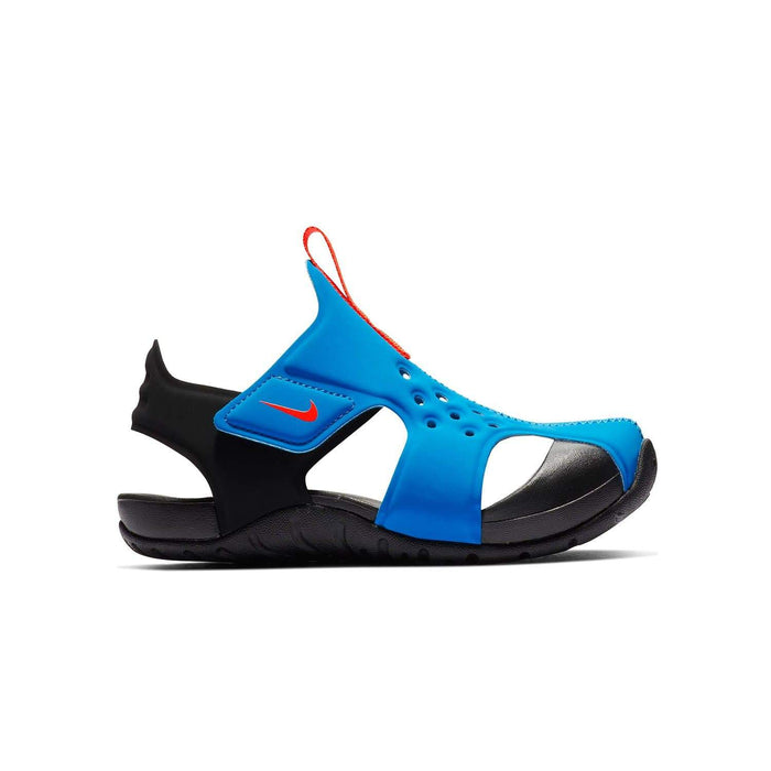 Nike Kids Nike Sunray Protect 2 Sandal Kids PS Photo Blue/Bright Crimson-Black - Right side view
