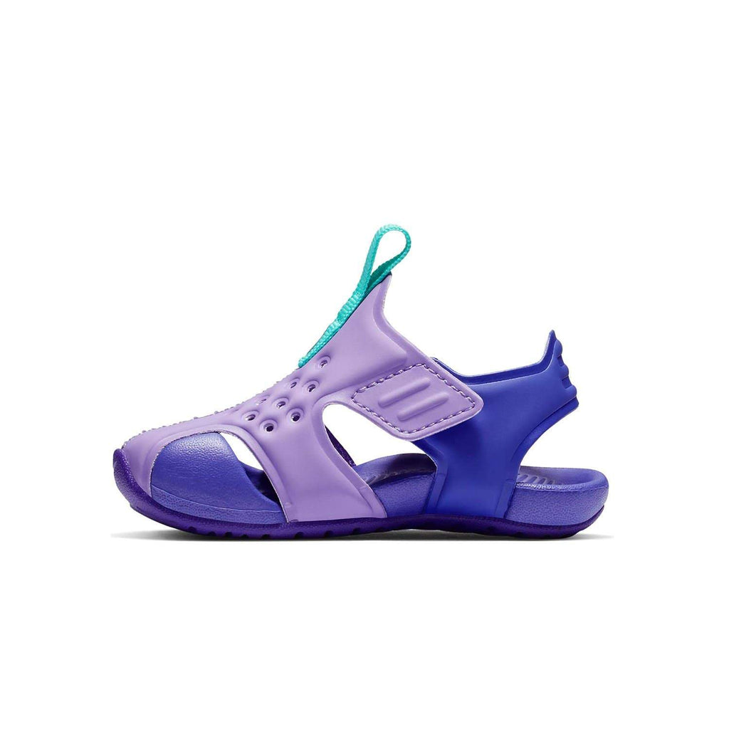 Nike Kids Nike Sunray Protect 2 Sandal Kids TD Atomic Violet/Hyper Jade-Hyper Grape - Left side view