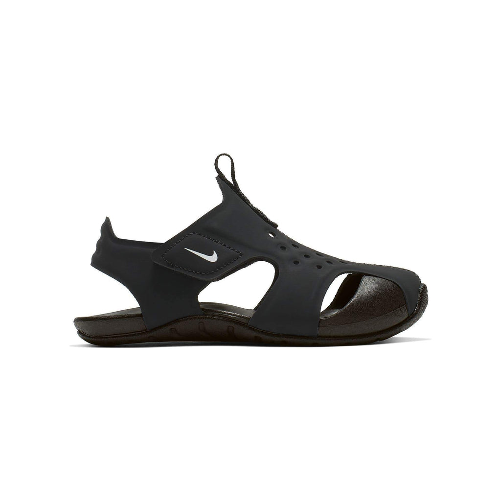 Nike Sunray Protect 2 Sandal Kids TD Black White - Sole Mechanics Natural Motion Footwear - Australia & New Zealand