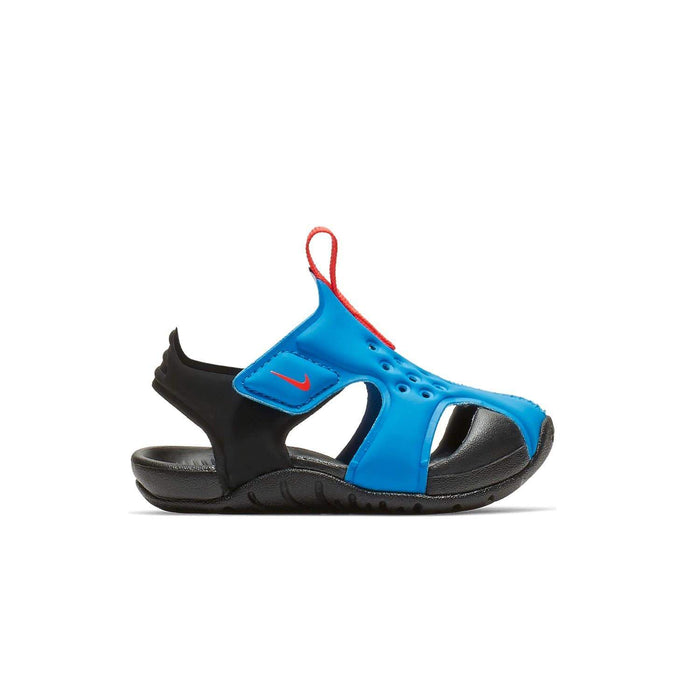 Nike Sunray Protect 2 Sandal Kids TD Photo Blue Bright Crimson-Black - Sole Mechanics Natural Motion Footwear - Australia & New Zealand