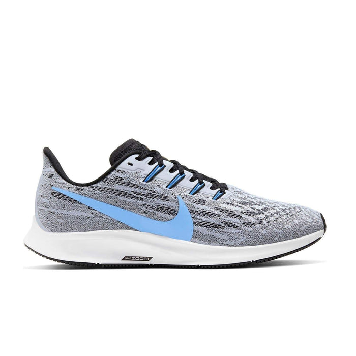 Nike Mens Nike Air Zoom Pegasus 36 Mens White/University Blue-Black Nike Air Zoom Pegasus 36 White/University Blue-Black | Sole Mechanics