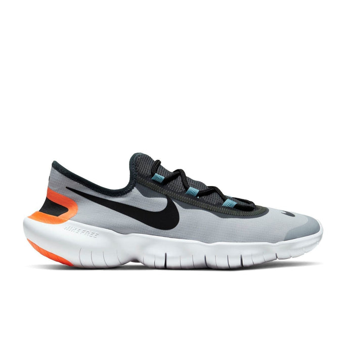 Nike Free RN 5.0 Mens 2020 Aura Black DK Smoke Grey - Sole Mechanics Natural Motion Footwear - Australia & New Zealand