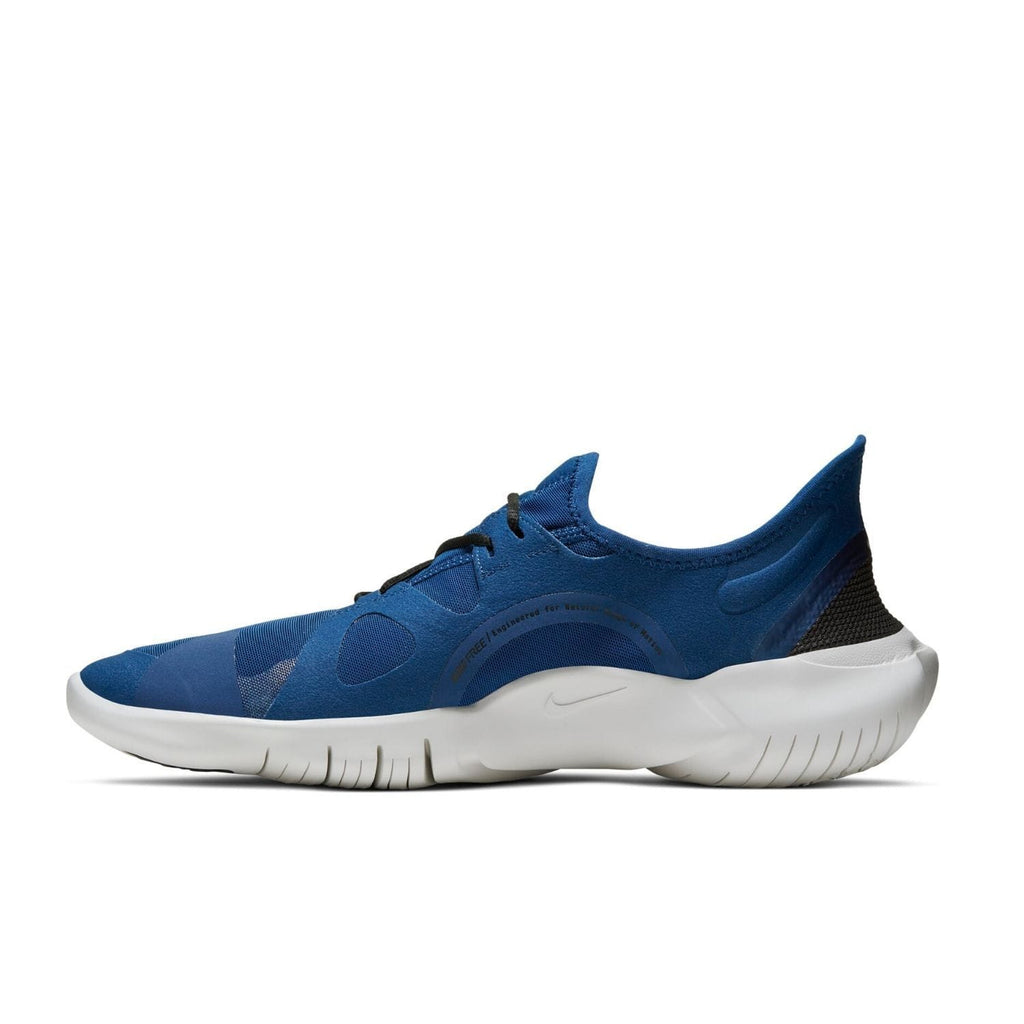 Nike Mens Nike Free RN 5.0 Mens Blue/Black - Left side view