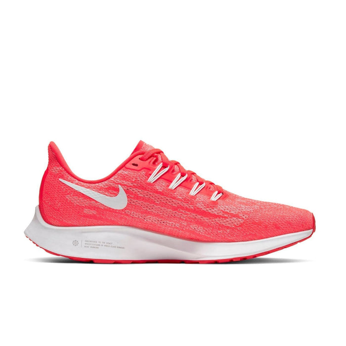 Nike Womens Nike Air Zoom Pegasus 36 Womens Laser Crimson/White Cramoisi Laser/Blanc  | Right Side view