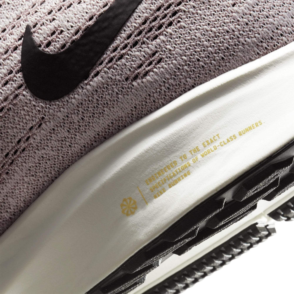 Nike Womens Nike Air Zoom Pegasus 36 Womens Platinum Violet/Black Plum Chalk Sail - Close up view of sole