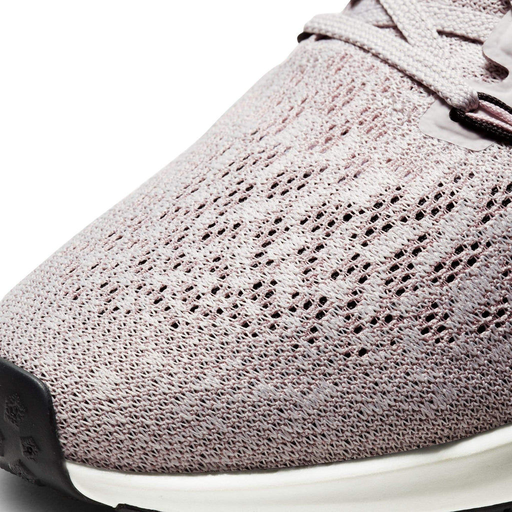 Nike Womens Nike Air Zoom Pegasus 36 Womens Platinum Violet/Black Plum Chalk Sail - Upper material close up view