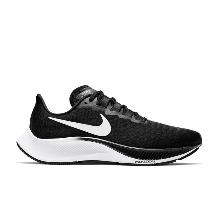 Nike Air Zoom Pegasus 37 Womens Black/White | Left side