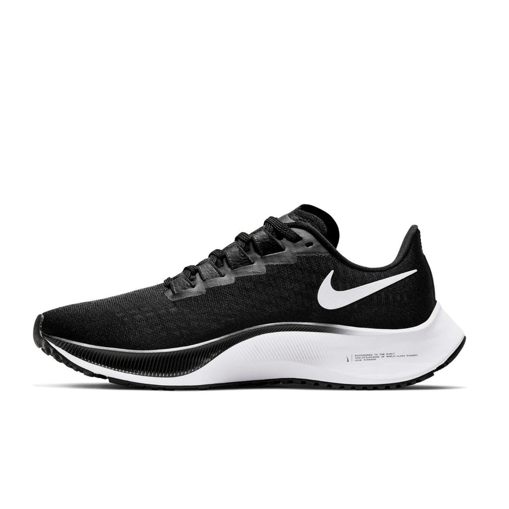 Nike Air Zoom Pegasus 37 Womens Black/White - Left view