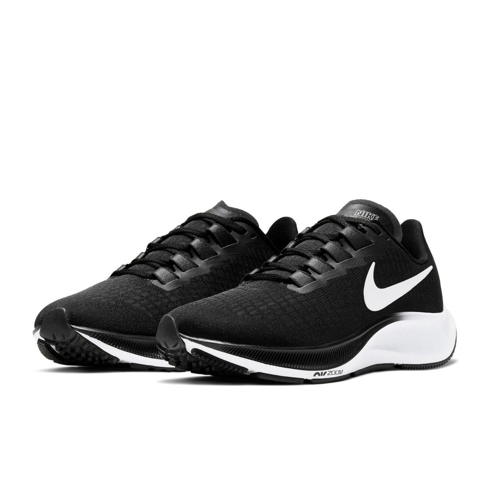 Nike Air Zoom Pegasus 37 Womens Black/White - pair view