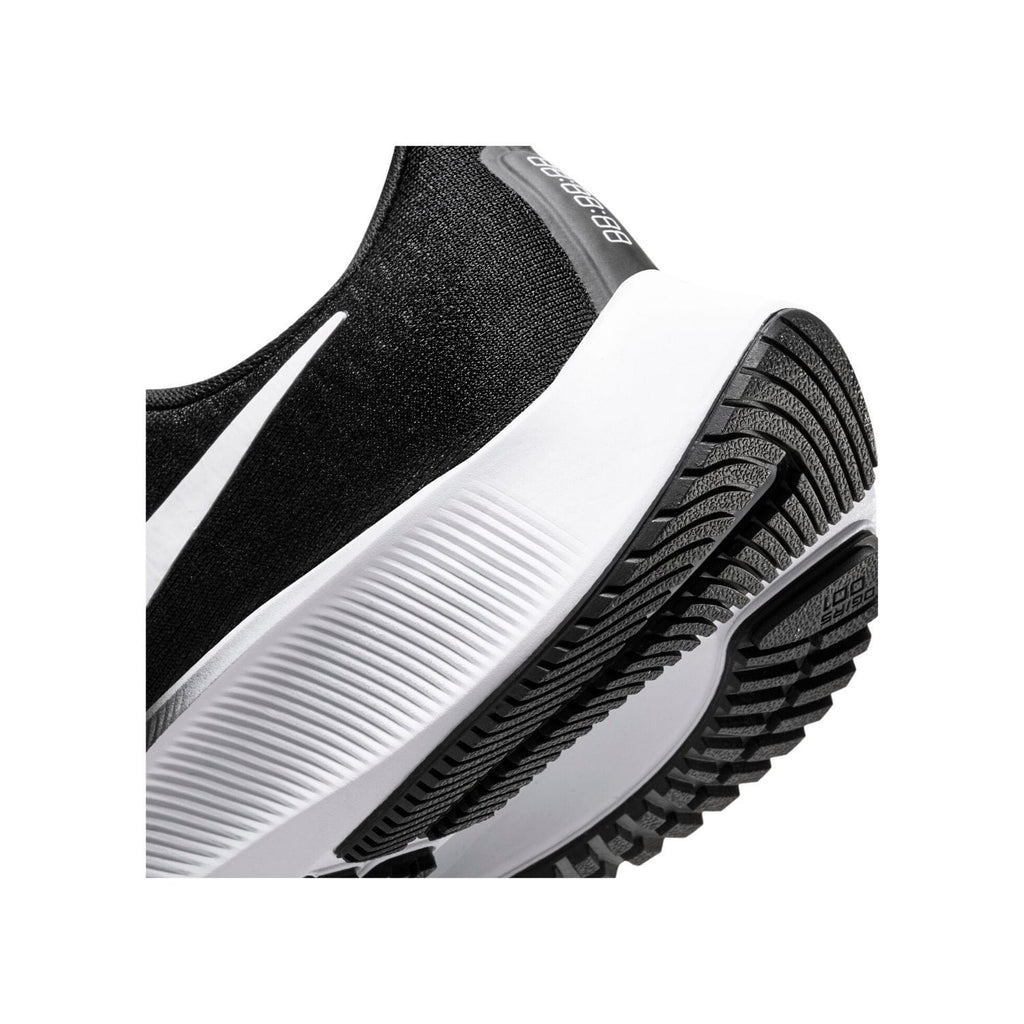 Nike Air Zoom Pegasus 37 Womens Black/White - Close Up sole view
