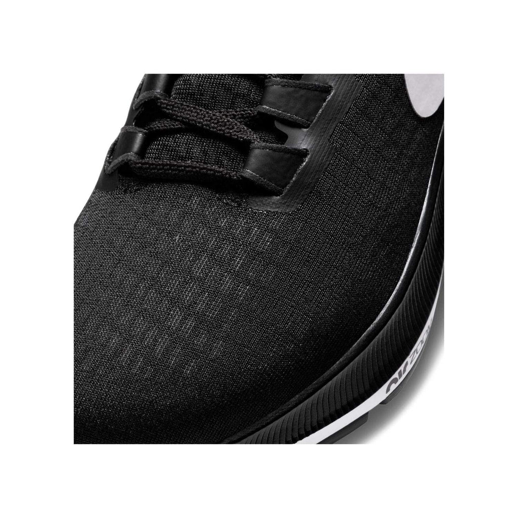 Nike Air Zoom Pegasus 37 Womens Black/White - Upper material close up