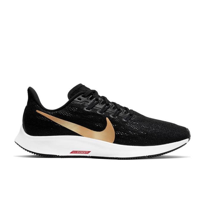 Nike Womens Nike Free RN 5.0 Womens Black/Metallic Gold Nike Free  - Right side view