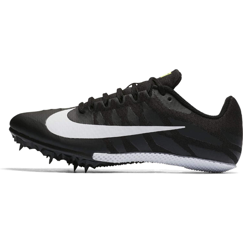 Nike Zoom Rival S9 Womens Black White Volt - Sole Mechanics Natural Motion Footwear - Australia & New Zealand