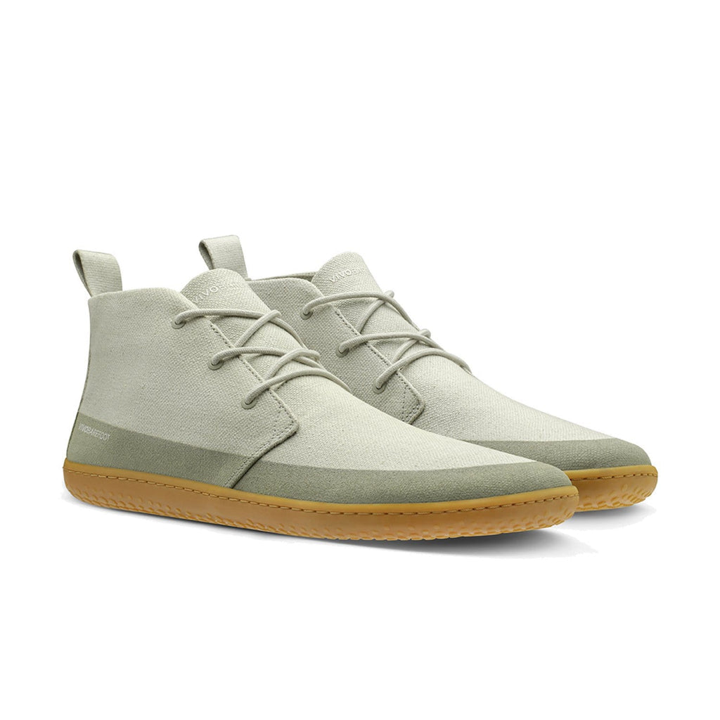 Vivobarefoot Gobi II Eco Hemp Mens Sandstone - Sole Mechanics Natural Motion Footwear - Australia & New Zealand