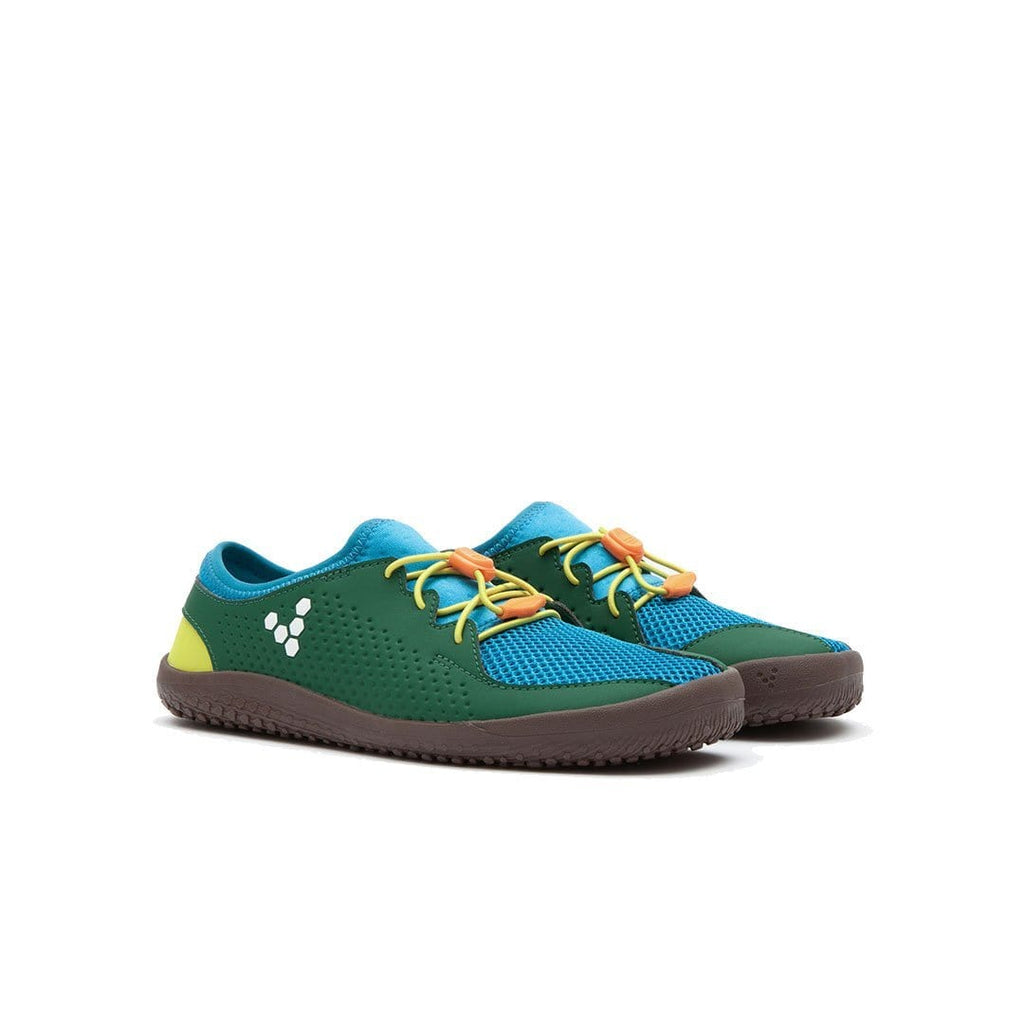 Vivobarefoot Primus Colour Kids Blue/Green/Yellow - Sole Mechanics Natural Motion Footwear - Australia & New Zealand