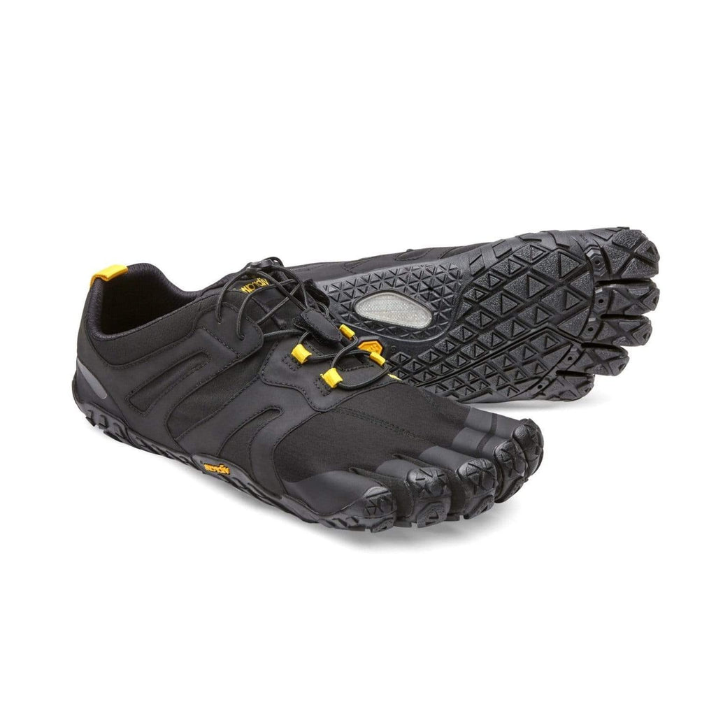 Vibram V-Trail V2 Mens Black - Sole Mechanics Natural Motion Footwear - Australia & New Zealand