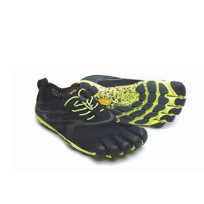 Vibram V-Run Black/Yellow Womens - Sole Mechanics Natural Motion Footwear - Australia & New Zealand