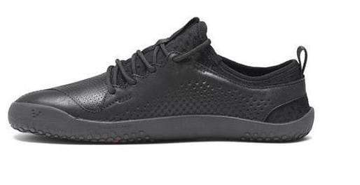 Vivobarefoot Primus School Jnr Kids Leather Black - Sole Mechanics Natural Motion Footwear - Australia & New Zealand