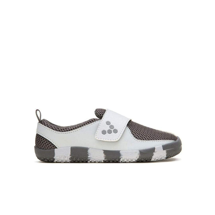 Vivobarefoot Mini Primus Kids Mesh Rhino Grey -Right Side View