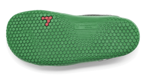 Vivobarefoot Primus Kids Mesh Black/Green - Sole Mechanics Natural Motion Footwear - Australia & New Zealand