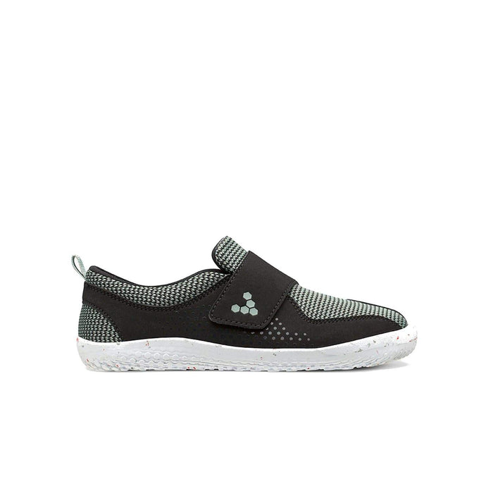 Vivobarefoot Primus Toddler Black Aqua Grey - Sole Mechanics Natural Motion Footwear - Australia & New Zealand