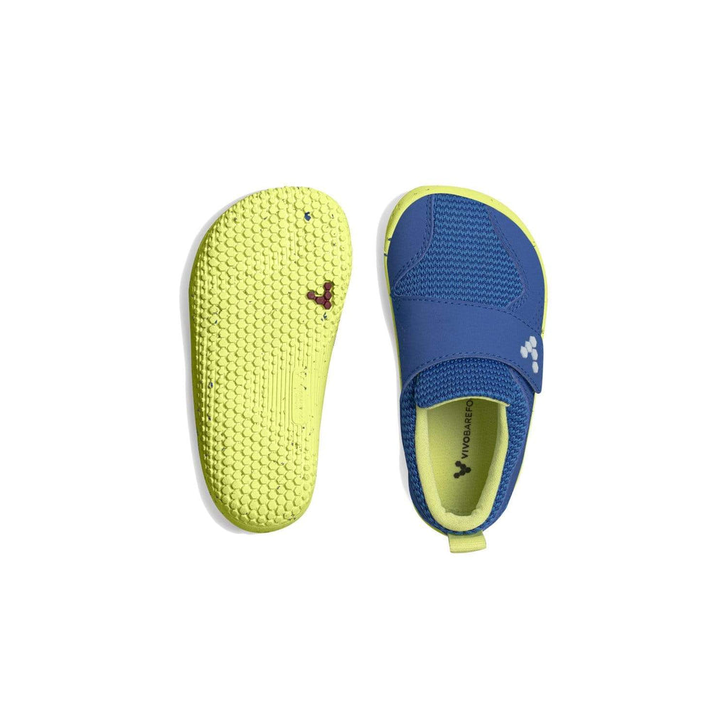 Vivobarefoot Primus Toddler Vivid Blue - Sole Mechanics Natural Motion Footwear - Australia & New Zealand