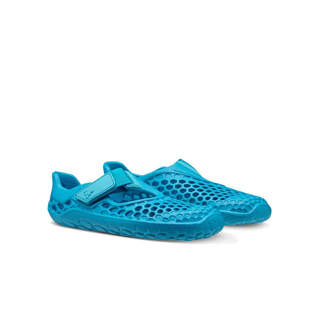 VIVOBAREFOOT Kids Vivobarefoot Ultra Bloom Kids Wave Blue - Pair view
