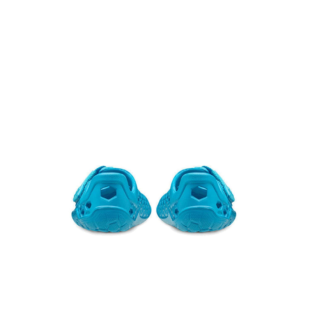VIVOBAREFOOT Kids Vivobarefoot Ultra Bloom Kids Wave Blue   - Back view