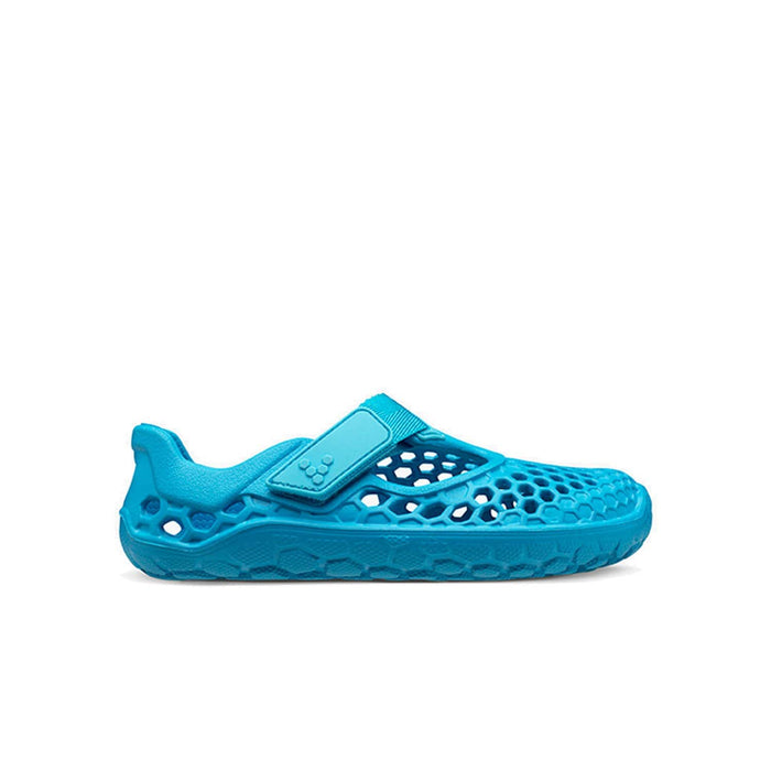 VIVOBAREFOOT Kids Vivobarefoot Ultra Bloom Kids Wave Blue - Right Side View