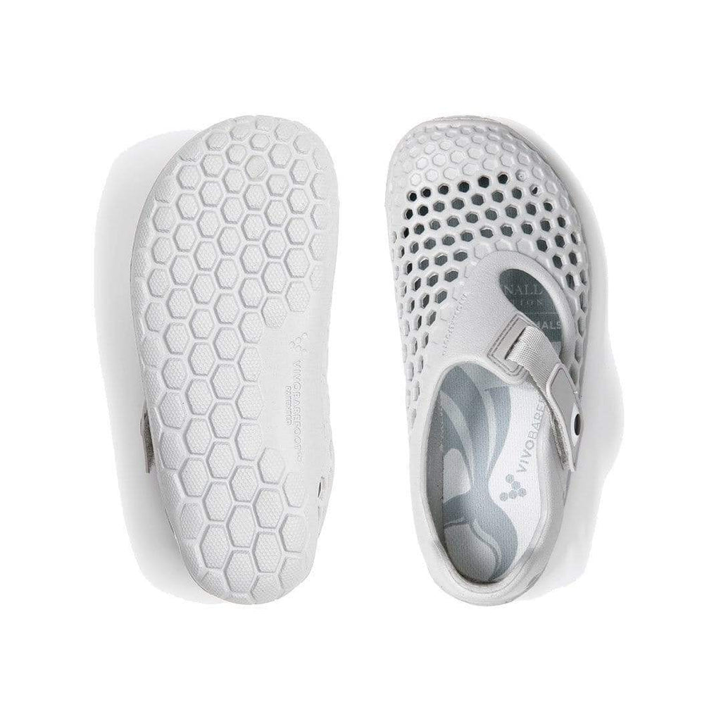 Vivobarefoot Ultra Kids Bloom Dolphin Grey - Sole Mechanics Natural Motion Footwear - Australia & New Zealand