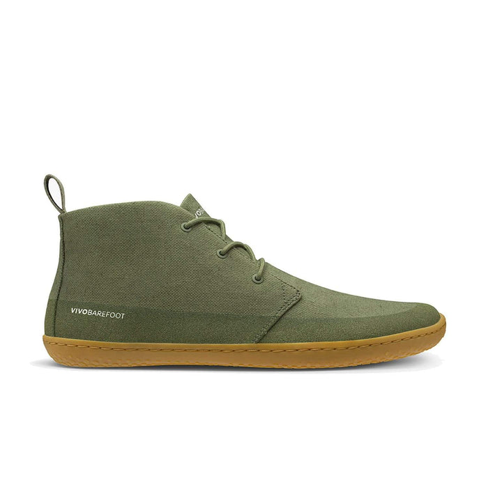 Vivobarefoot Gobi II Eco Hemp Mens Botanical Green - Sole Mechanics Natural Motion Footwear - Australia & New Zealand