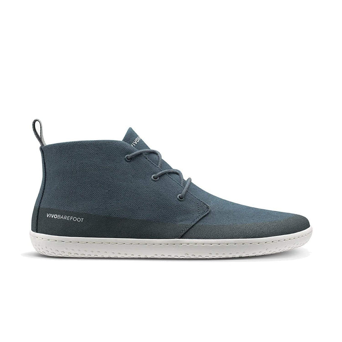 Vivobarefoot Gobi II Eco Hemp Mens Deep Sea Blue - Sole Mechanics Natural Motion Footwear - Australia & New Zealand