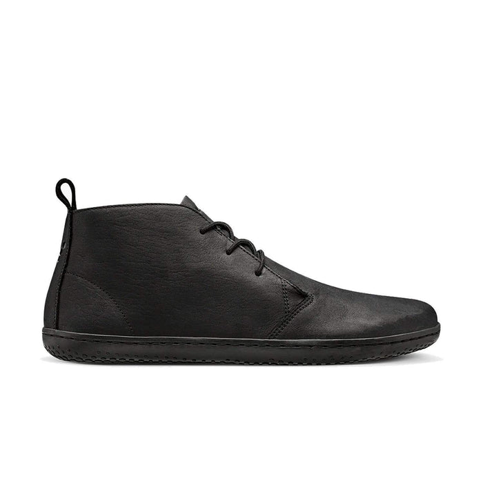 Vivobarefoot Gobi II Mens Leather Black/Hide - Sole Mechanics Natural Motion Footwear - Australia & New Zealand