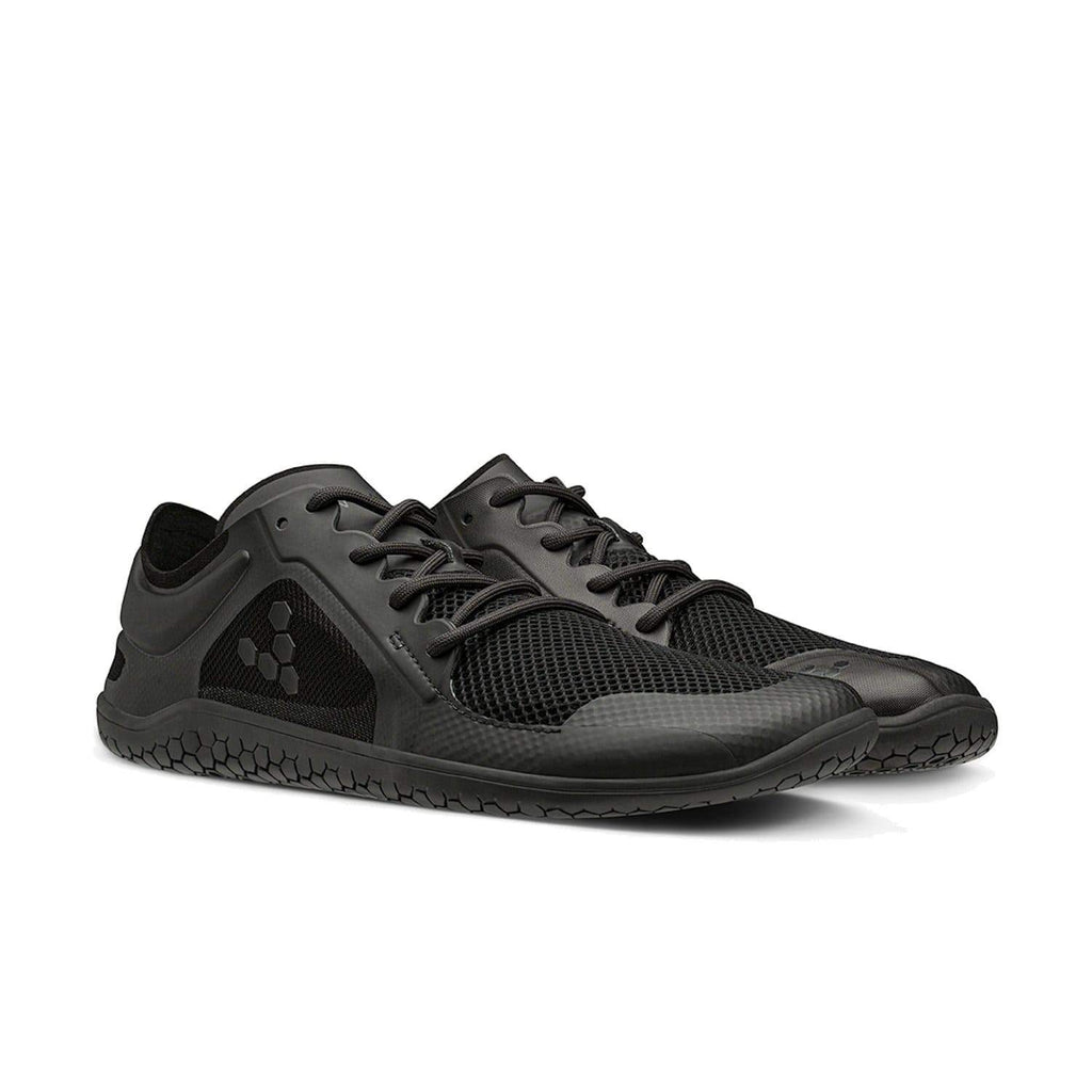Vivobarefoot Primus Lite II Recycled Mens Obsidian Black - Sole Mechanics Natural Motion Footwear - Australia & New Zealand