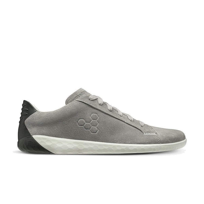 Vivobarefoot Geo Court Nubuck Womens Zinc Grey - Sole Mechanics Natural Motion Footwear - Australia & New Zealand